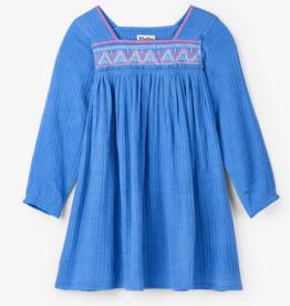 HATLEY SEA BLUE BEACH DRESS