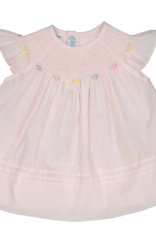 FELTMAN BROS FELTMAN BROTHERS BISHOP COLLAR FLY SLEEVELESS DRESS (SIZES 12 & 24 MONTHS)