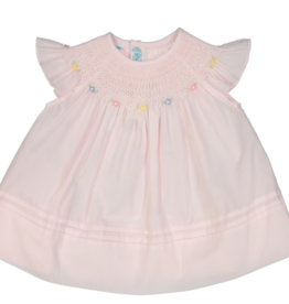 FELTMAN BROS BISHOP COLLAR FLY SLEEVELESS DRESS (SIZES 3, 6, & 9 MONTHS)
