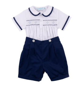 FELTMAN BROS 2PC SMOCKED BOBBY SUIT