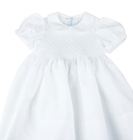 FELTMAN BROS DIAMOND SMOCK DRESS (12, 18 & 24 MONTHS)
