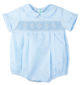 FELTMAN BROS SMOCKED EMB DIAMOND CREEPER