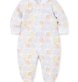 KISSY KISSY ELEPHANT EARS FOOTIE W/ZIPPER