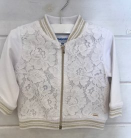 MAYORAL KNIT LACE JACKET