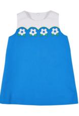 FLORENCE EISEMAN FLORENCE EISEMAN SEA SCALLOPS DRESS W/FLOWERS
