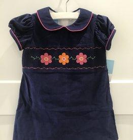 ANAVINI FLOWERS CORD FLOAT DRESS