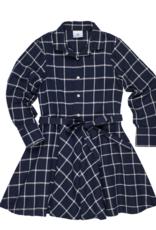 FLORENCE EISEMAN FLORENCE EISEMAN CENTER STAGE PLAID SHIRT DRESS