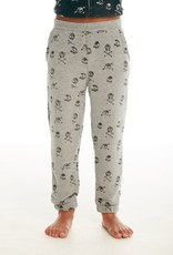 CHASER CHASER SKULL COZY KNIT LOUNGE JOGGER PANT