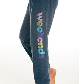 CHASER GIRLS COZY KNIT LOUNGE PANT