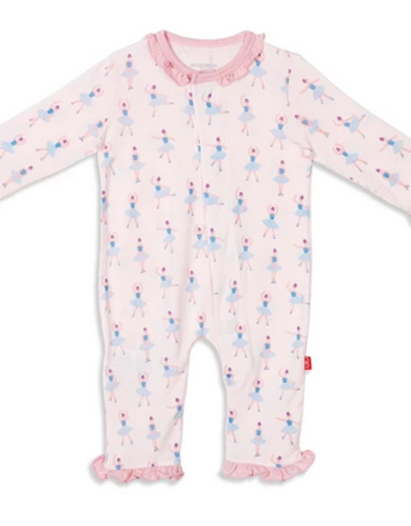 MAGNIFICENT BABY MAGNIFICENT BABY PRIMA BALLERINA MODAL COVERALL