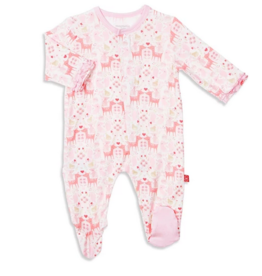 MAGNIFICENT BABY FLORA & FAWNA MODAL FOOTIE