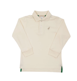 BEAUFORT BONNET CO LONG SLEEVE PRIM & PROPER POLO SHIRT