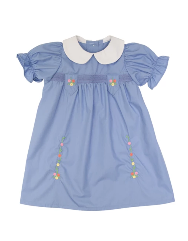 BEAUFORT BONNET CO TBBC SMOCKED HOLLY DAY DRESS