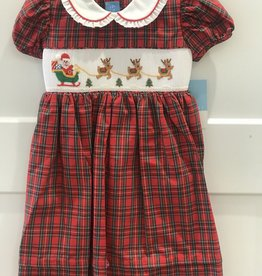 ANAVINI SANTA'S SLEIGH SHORT SLEEVE DRESS