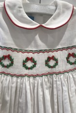 ANAVINI AVAVINI WREATHS CORD SHORT SLEEVE DRESS