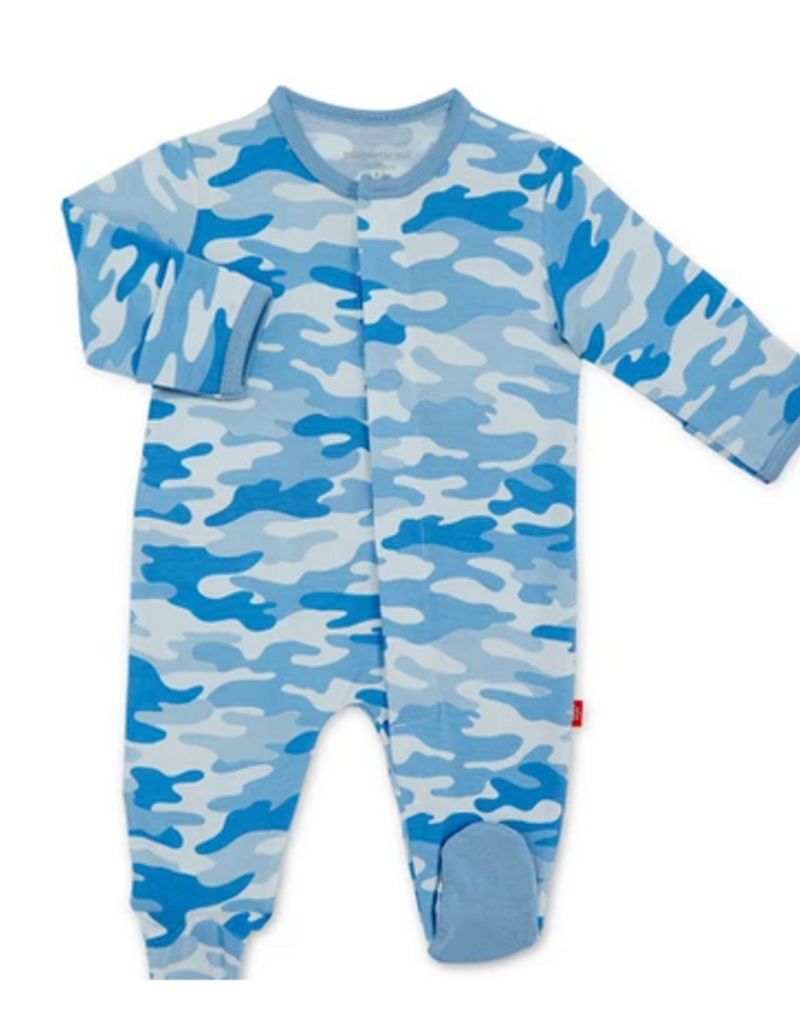 MAGNIFICENT BABY MAGNETIC ME CAMO CHIC MODAL FOOTIE