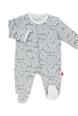 MAGNIFICENT BABY  MAGNETIC MESHEEPS MEADOW MODAL FOOTIE