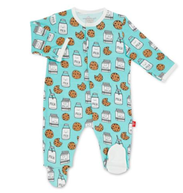 MAGNIFICENT BABY MAGNETIC ME BEDTIME STORIES MODAL FOOTIE