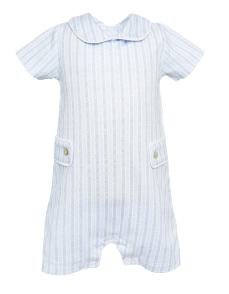 LILA & HAYES LILA & HAYES HENRY PETER PAN COLLARED SHORTALL