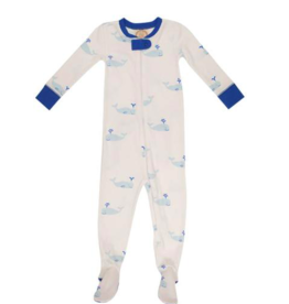 BEAUFORT BONNET CO TBBC KNOX'S NIGHT NIGHT FOOTED PJS