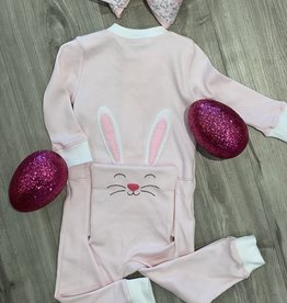 BELLA BLISS BELLA BLISS  BUNNY PIMA ZIP FRT STRETCHIE