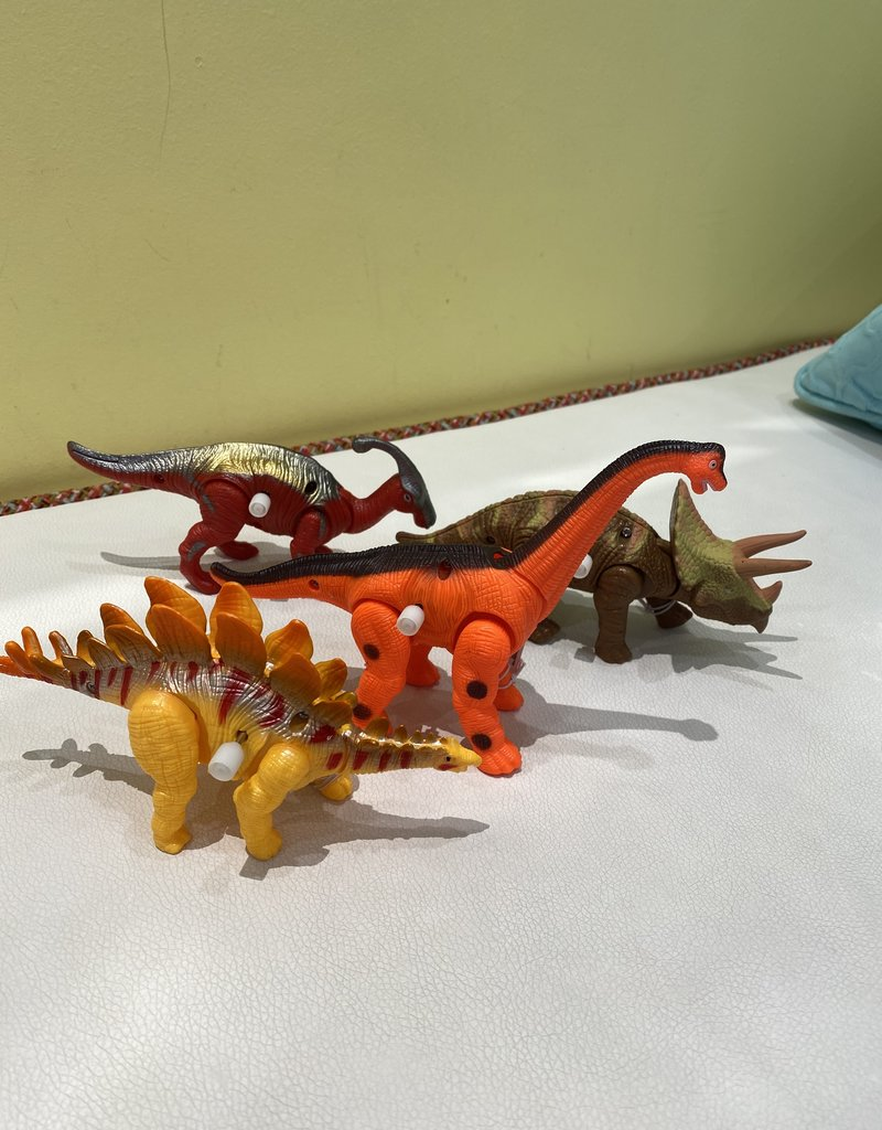 TWO'S COMPANY DINO WIND UP TOY