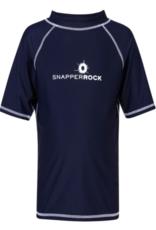 SNAPPER ROCK NAVY  S/S RASHGUARD SHIRT
