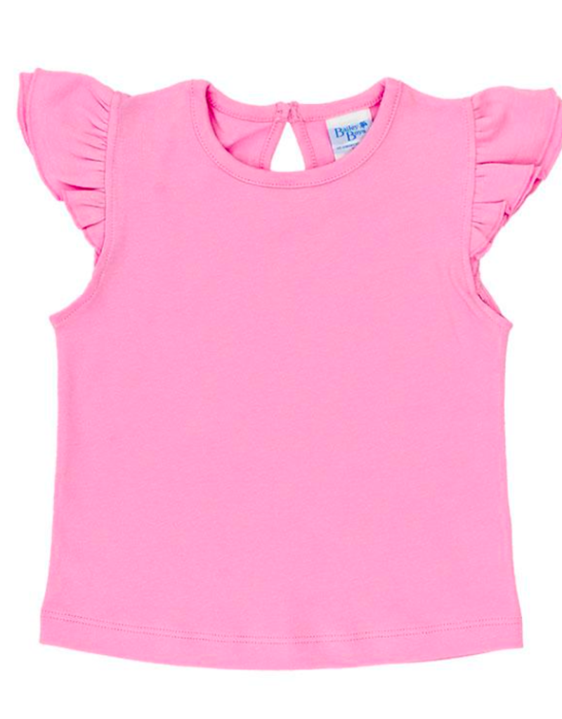 BAILEY BOYS GIRS PINK RUFFLED SHIRT