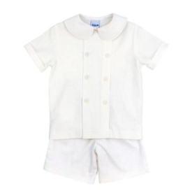 BAILEY BOYS WHISPER LINEN DRESSY SHORT SET