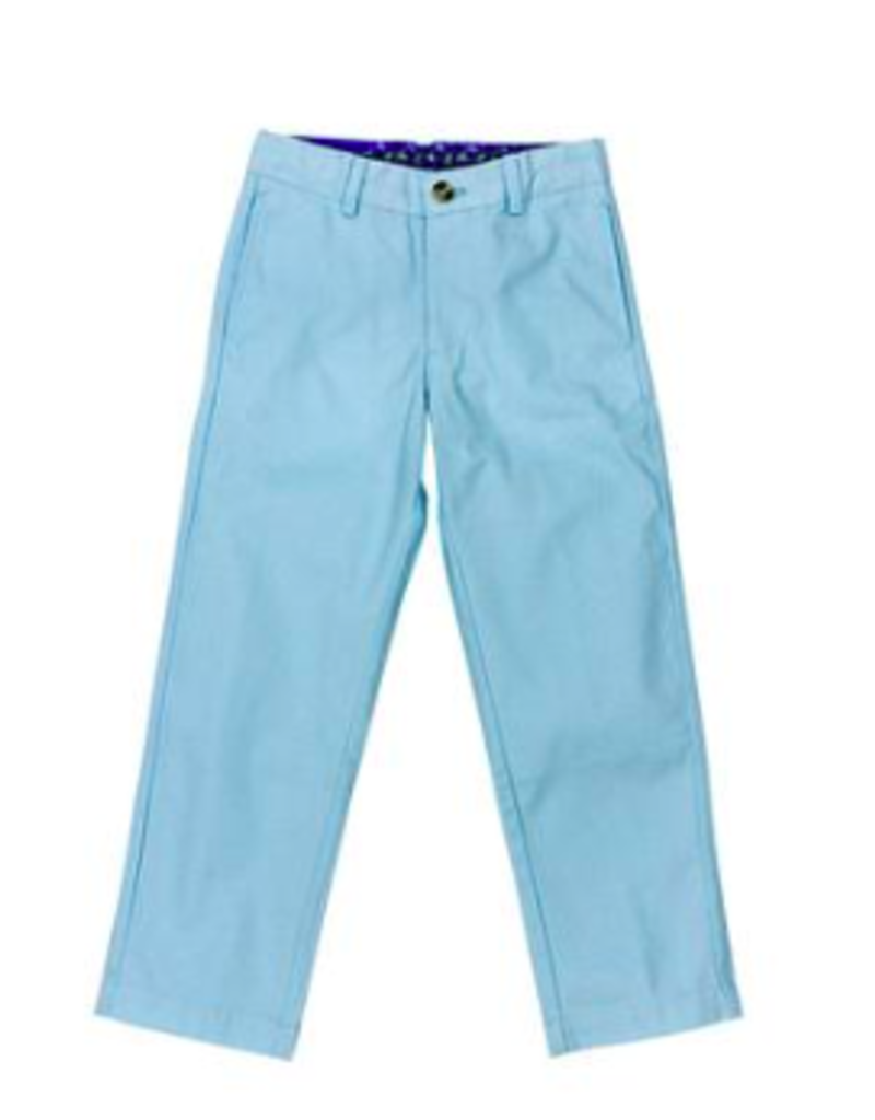 BAILEY BOYS BOYS-  ICE BLUE  CHAMP TWILL PANT