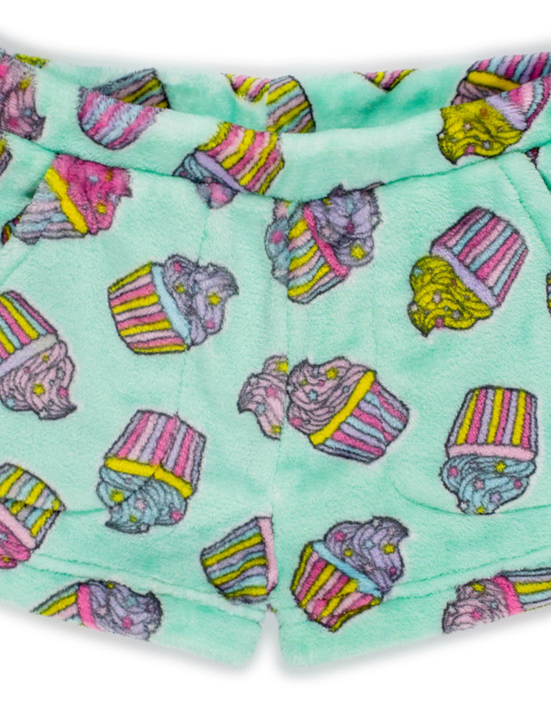 CANDY PINK/120 CLOTHING COM CANDY PINK CUPCAKE SHORT