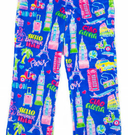 CANDY PINK/120 CLOTHING COM TRAVEL PANT