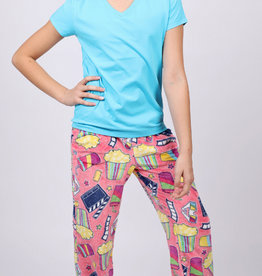 CANDY PINK/120 CLOTHING COM MOVIE PANT