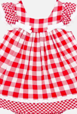 MAYORAL MAYORAL PLAID DRESS W/BLOOMERS