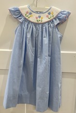 PETIT BEBE TULIPS ANGEL WING SLV DRESS
