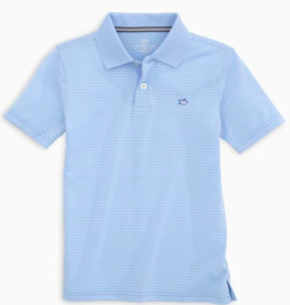 SOUTHERN TIDE ROSTER STRIPE PERFORM S/S POLO SHIRT