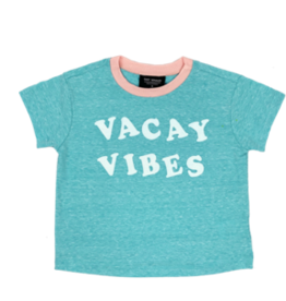 TINY WHALES VACAY VIBES S/S T-SHIRT