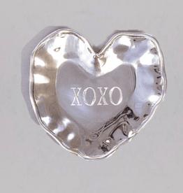BEATRIZ BALL HEART ENGRAVED TRAY XOXO