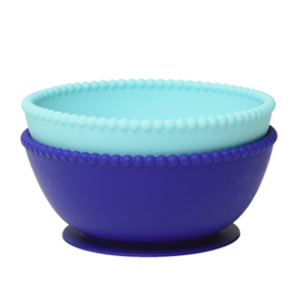 CHEWBEADS EAT SILICONE BOWLS 2(PK)