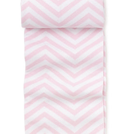 KISSY KISSY PINK CHEVRON NOVELTY KNIT BLANKET