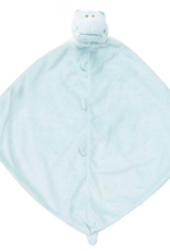 ANGEL DEAR ANGEL DEAR BLUE  HIPPO BLANKIES
