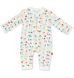 MAGNIFICENT BABY ABC LOVE MODAL COVERALL