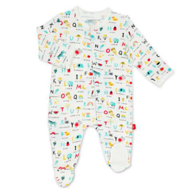 MAGNIFICENT BABY ABC LOVE MODAL FOOTIE