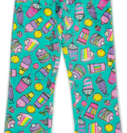 CANDY PINK/120 CLOTHING COM RAINBOW FOOD TRUCK PANT
