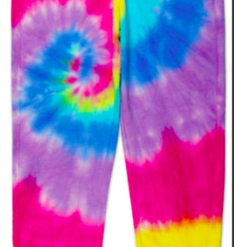 CANDY PINK/120 CLOTHING COM RAINBOW SWIRL JOGGER PANT