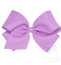 wee ones LIGHT  ORCHID- KING  CLASSIC GROSGRAIN  BOW