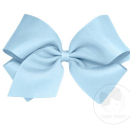 wee ones MILLENNIUM BLUE- KING  CLASSIC GROSGRAIN  BOW