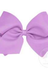 wee ones LIGHT ORCHID- MEDIUM  CLASSIC GROSGRAIN  BOW