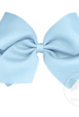 wee ones MILLENNIUM BLUE- MINI  CLASSIC GROSGRAIN  BOW