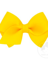 wee ones YELLOW- WEE CLASSIC GROSGRAIN  BOW